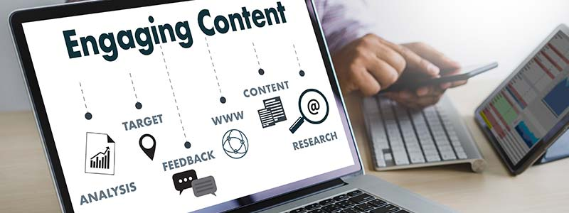 Engaging Content to reach Customers